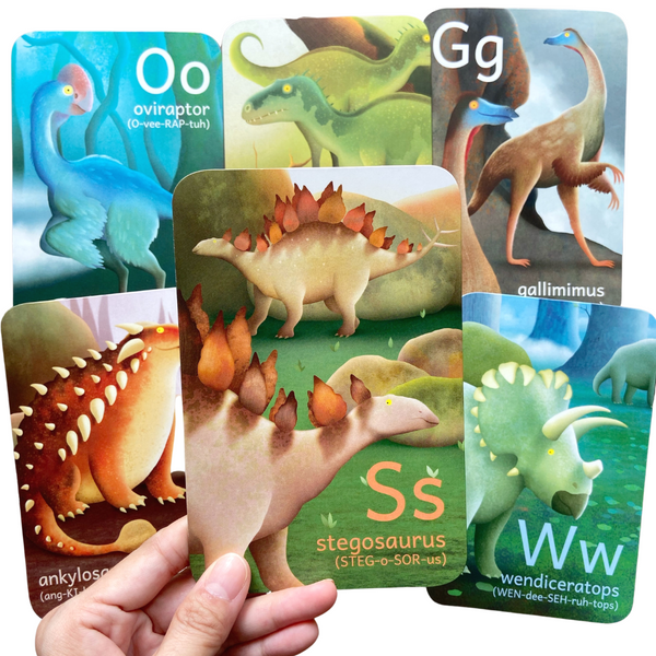 Dinosaurs A To Z Cards