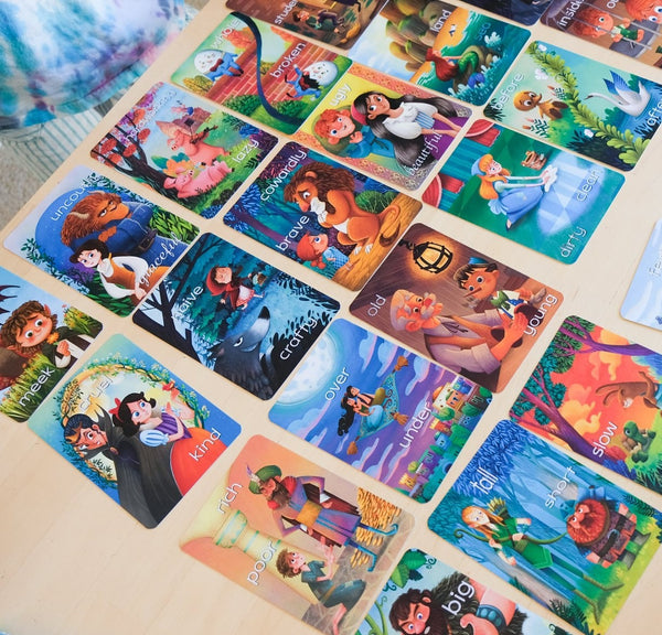 The Fairy Tale Bundle - Fairy Tale Emotions & Fairy Tale Opposites cards