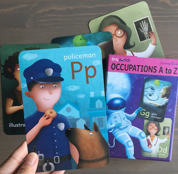 Occupations A to Z Cards