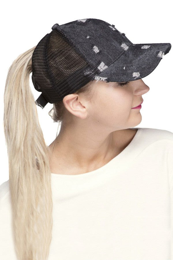 42858a76 C.C. Ponytail Cap – Bell'aspetto & Co.