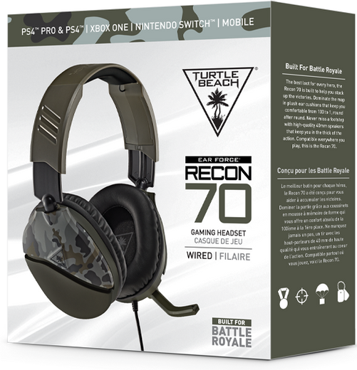 Turtle Beach Package in Green Camo
