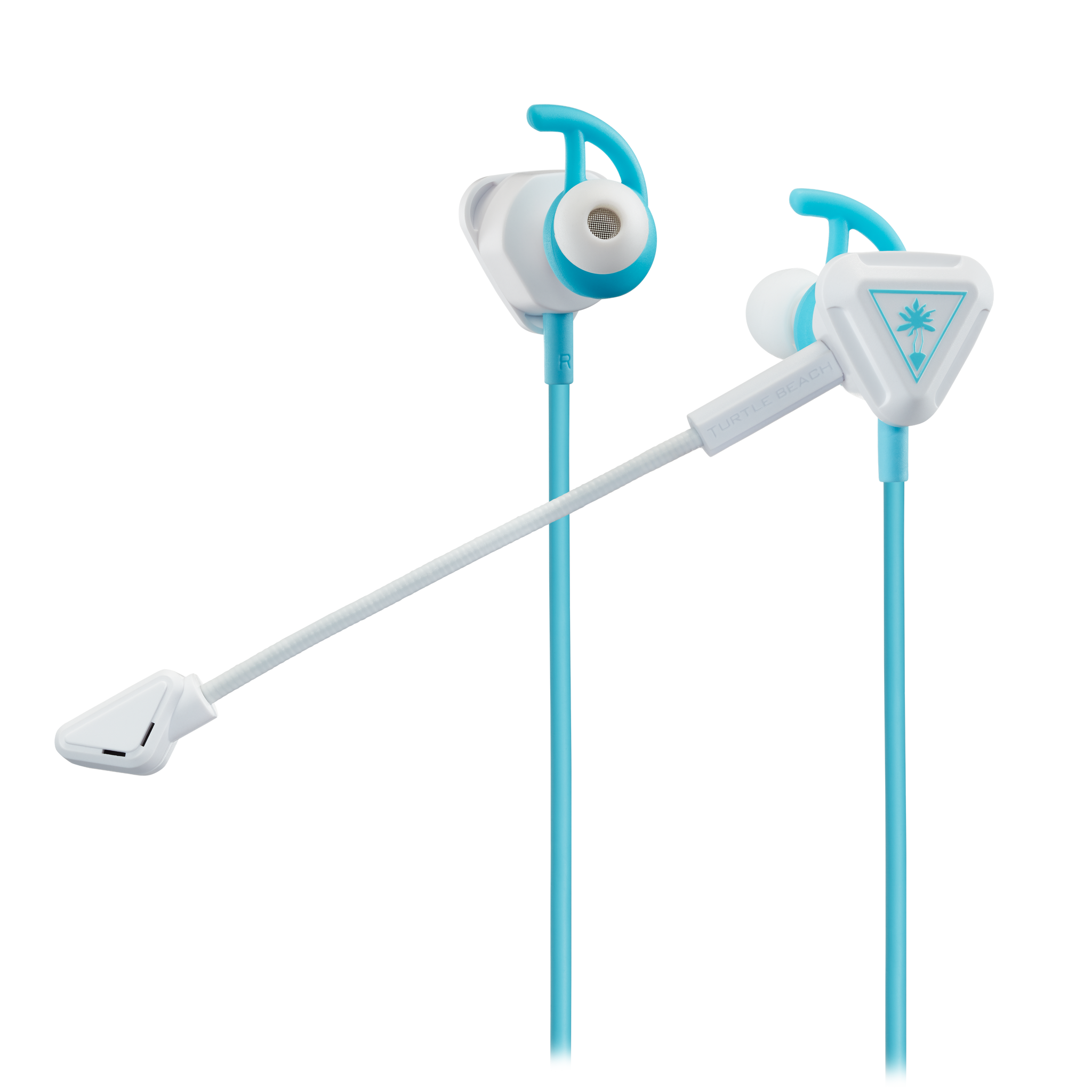 Battle Buds™ Gamingheadset  - Wit/Blauwgroen
