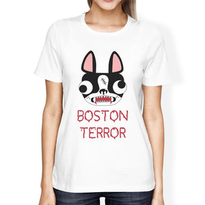 Boston Terror T-Shirt - Women's, White