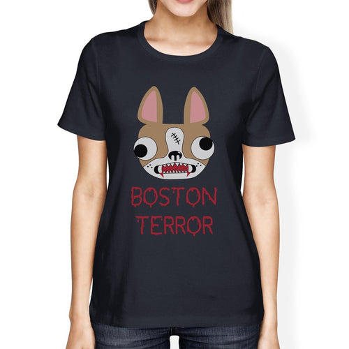 Boston Terror T-Shirt - Women's, Navy
