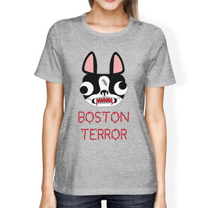 Boston Terror T-Shirt - Women's, Grey