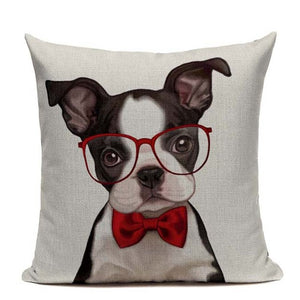 Boston Terrier & Frenchie Cushion Covers - 24 super cute styles!