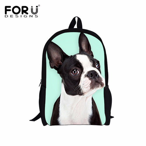 Boston Terrier Print Bags/Backpacks - 22 cute styles!