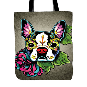 Day of the Dead / Sugar Skull Tote Bag