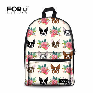 Canvas Backpacks - 5 cute designs