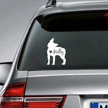 Custom Car Decal - Your dog's name!