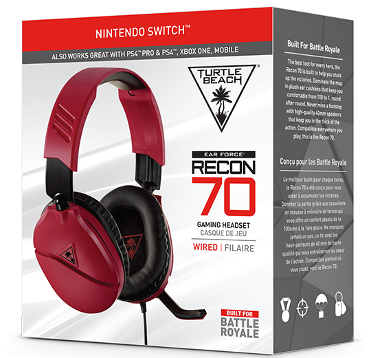 Recon 70N Midnight Red Package