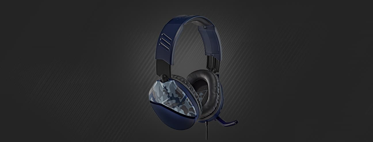 Recon 70 Blue Camo gaming headset
