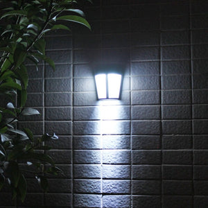 1pcs LED Solar Power Light Control Wall Light 6 LED Outdoor Waterproof Energy Saving Street Yard Path Home Garden Security Lamp