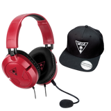Recon 50 Headset Red - Cap Bundle