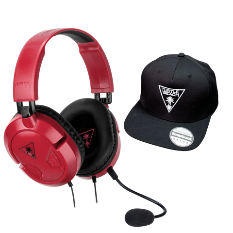 product-media-Recon 50 Headset Red - Cap Bundle