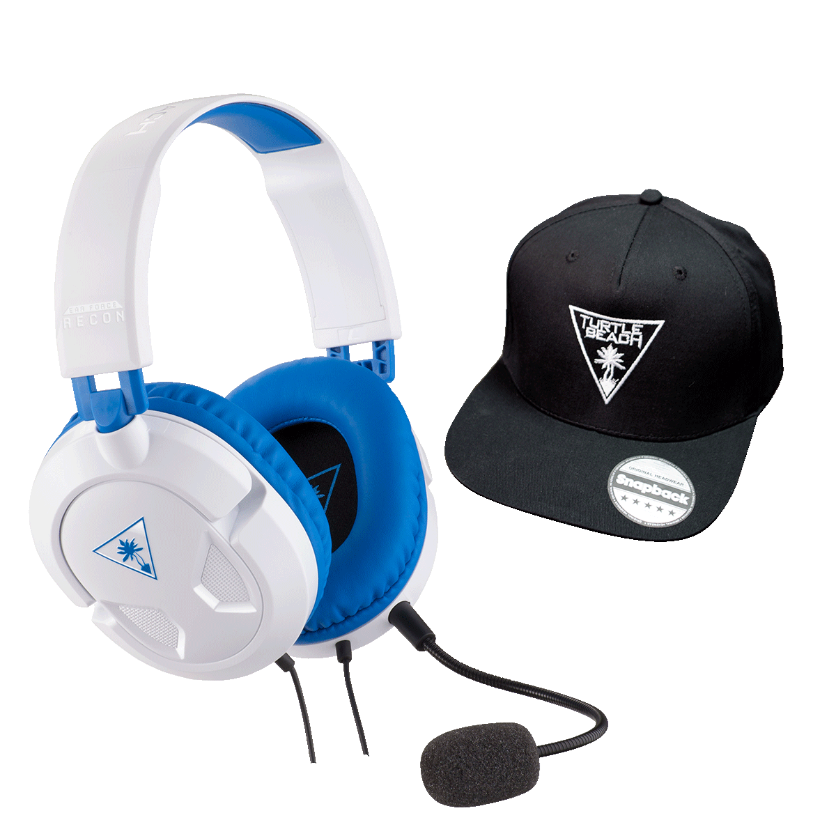 Recon 60P White - Cap Bundle