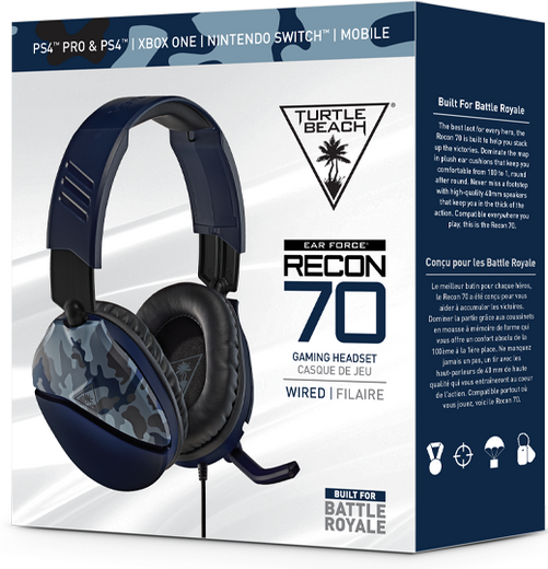 Turtle Beach Package in Blue Camo