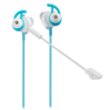 Écouteurs de Gaming Intra-Auriculares Battle Buds - Blancs / Bleu Canard