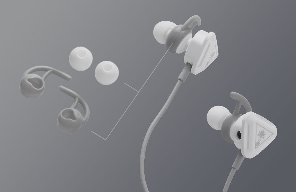 Turtle Beach product feature showcasing Lightweight Comfort Battle Buds White.jpg