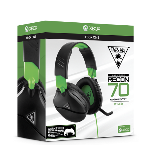 Turtle Beach Packaging in Green