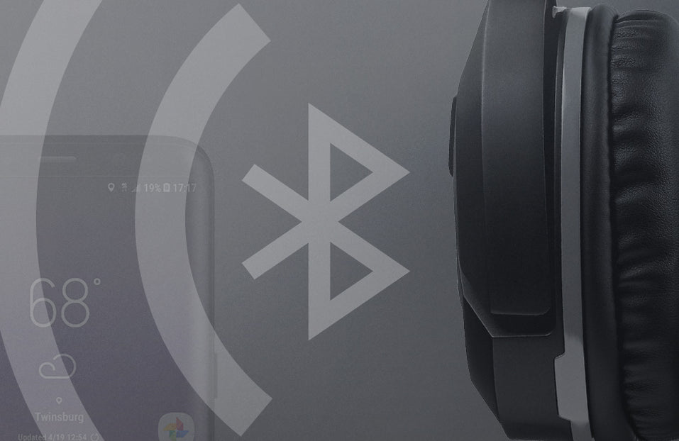Turtle Beach product feature showcasing Bluetooth