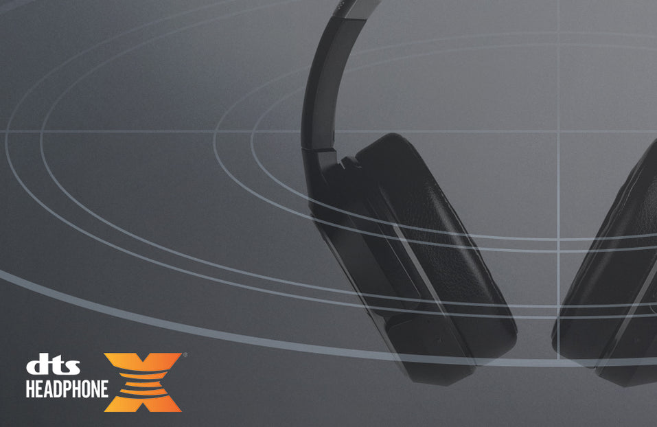 Turtle Beach product feature showcasing DTS