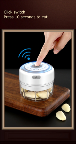 Image of Mini Electric Kitchen Grinder