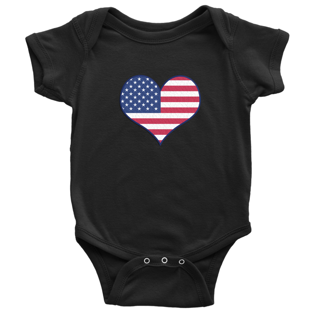 Love Independence Baby Bodysuit