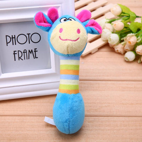 Image of Cute Pet Dog Toys Chew Squeaker Animals Pet Toys Plush Puppy Honking Squirrel For Dogs Cat Chew Squeak Toy Dog Goods