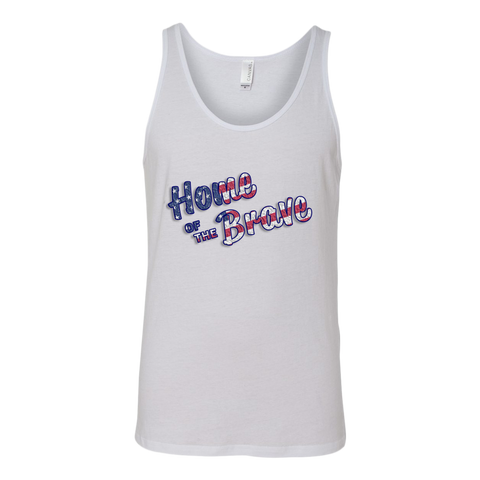 Unisex Tank Home of the Brave