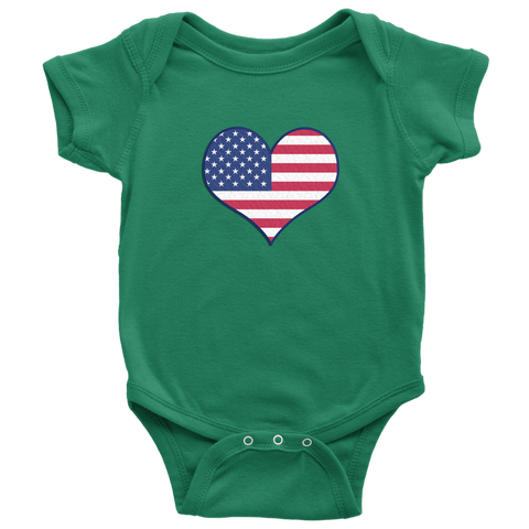 Image of Love Independence Baby Bodysuit
