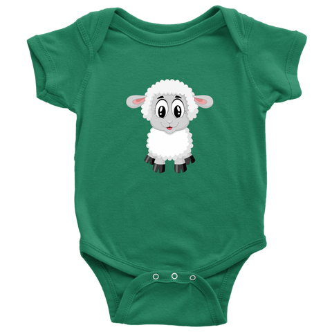 Image of Lamb Baby bodysuit