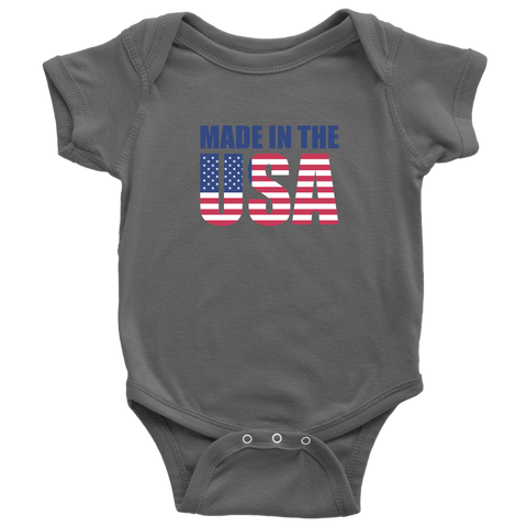 Made In USA Baby Bodysuit