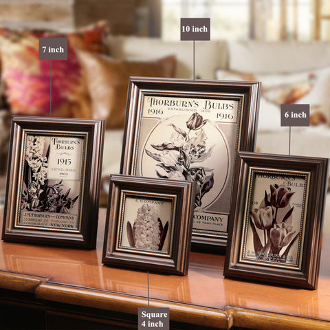 4 Lovely Birds Wooden Picture Frame