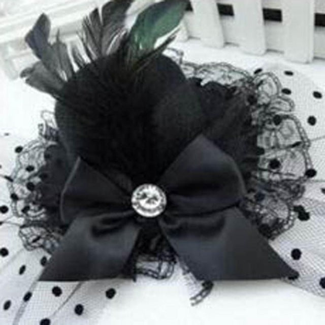 Lady Mini Feather Hat