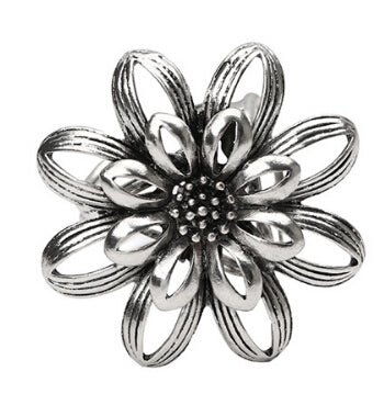 Sun Flower Brooch Pin