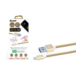 xpower-aluminium-alloy-nylon-type-c-to-usb-3-1-super-speed-cable-5