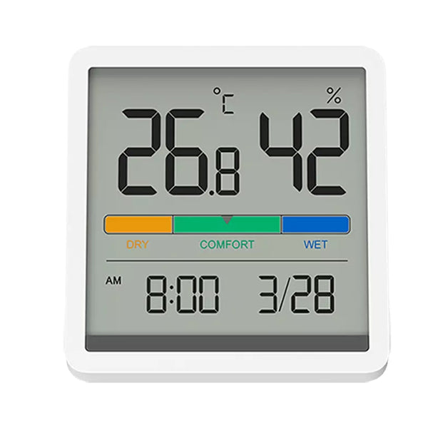 MIIIW Digital Hygro-Thermometer Clock