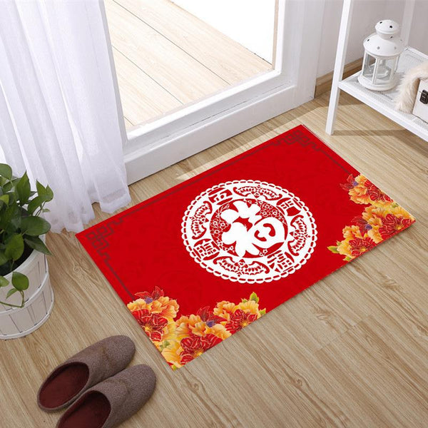 Chinese New Year Floor Mat