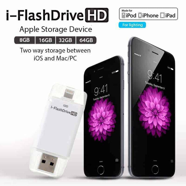 i-FlashDrive OTG for iOS/Android & Mac/PC