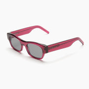 Akila Eyewear Vega Sunglasses in Candy Plum / Smoke