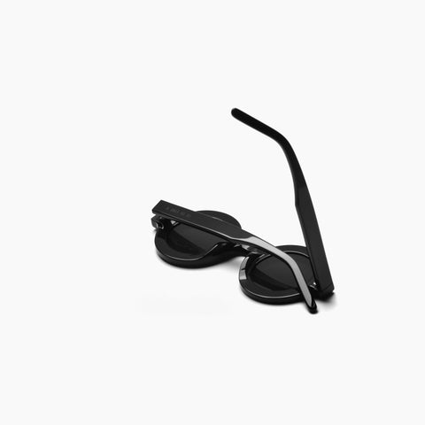 Akila Eyewear x Chinatown Market Have A Nice Day Sunglasses in Black / Black