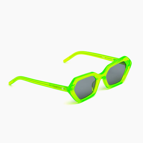 Akila Eyewear x 10.Deep 720° Sunglasses in Neon Green / Black