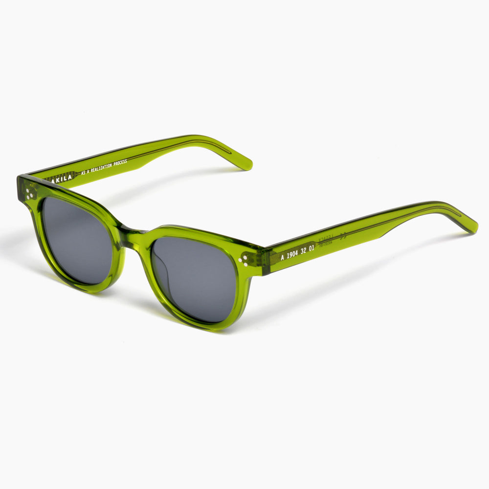 Akila Eyewear Legacy Sunglasses in Bottle Green / Black