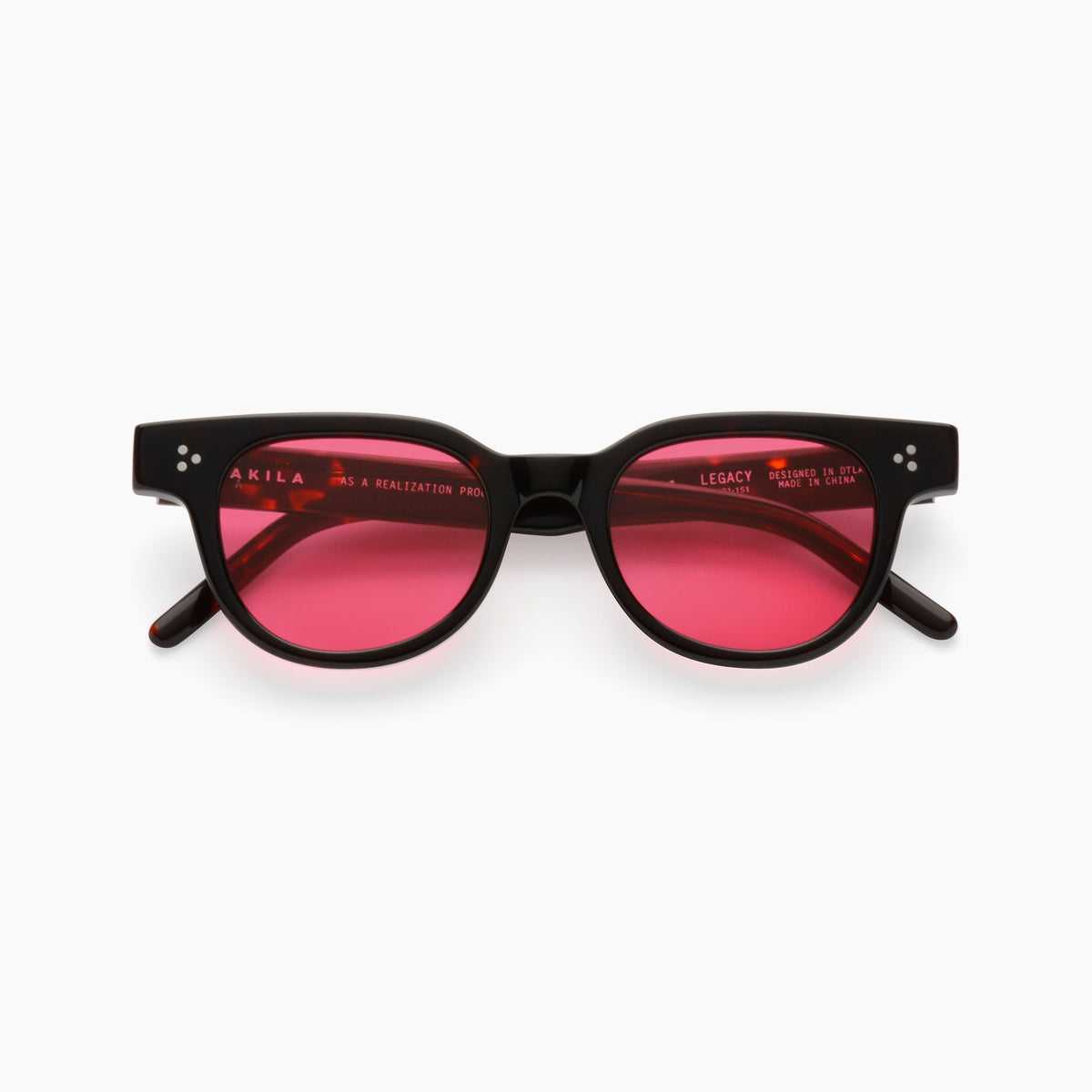 Akila Eyewear Legacy Sunglasses in Tortoise / Rose