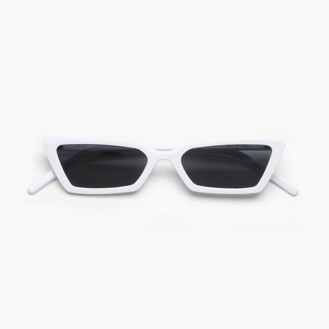 Akila Eyewear x Pleasures Nemesis Sunglasses in White / Black
