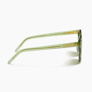 Akila Eyewear x Raised By Wolves Studio Sunglasses in Green / Green