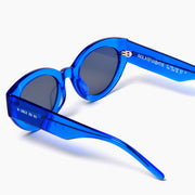 Akila Eyewear Abstract Sunglasses in Blue / Black