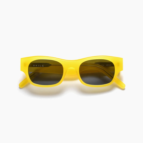 Akila Eyewear Vega Sunglasses in Yellow / Black