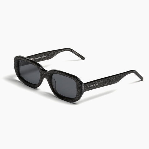 Akila Eyewear Verve Sunglasses in Black Sparkle / Black
